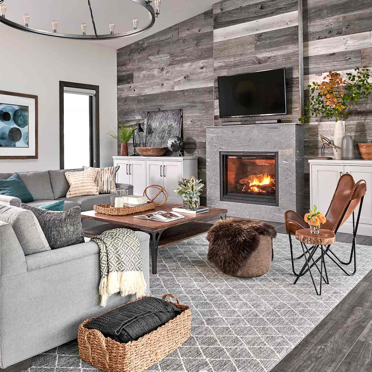 Lake House Decor | Wall Planks | Pallet Wall